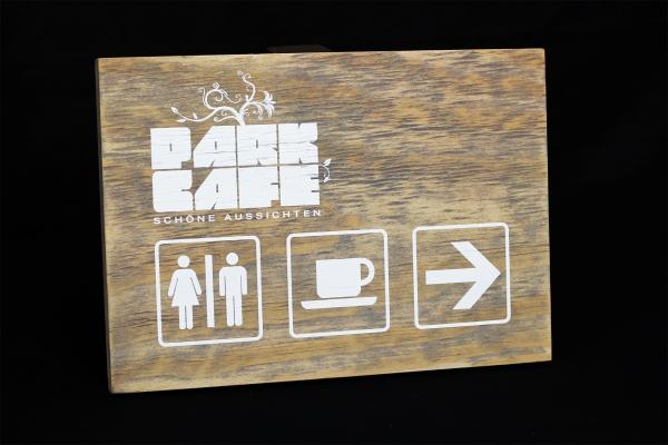 Weißdruck, Holzdruck, Holzmaserung