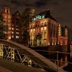 Museum und Ausstellung Hamburg Abendstimmung