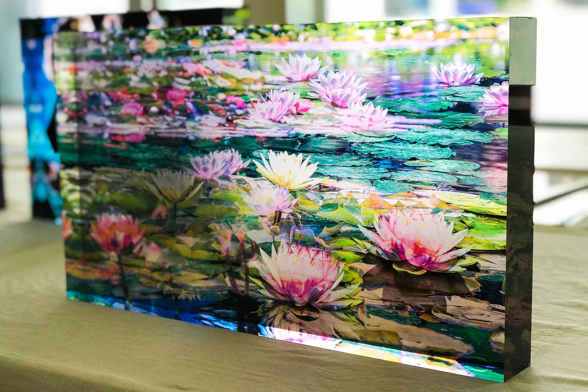 Druck auf Acrylglas und Plexiglas